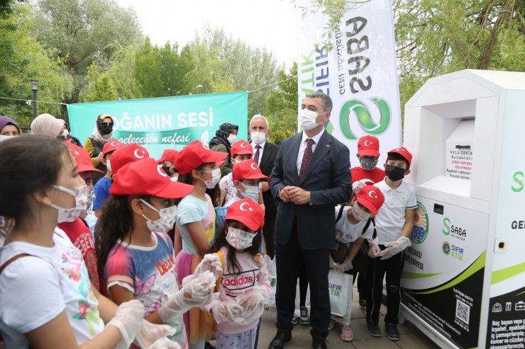 Başkan Şimşek ve öğrencilerden temizlik kampanyası