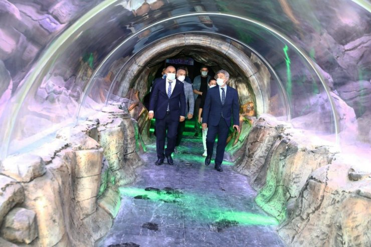 Başkan Altınok, Bakan Yardımcısı Demircan'ı Keçiören'de misafir etti