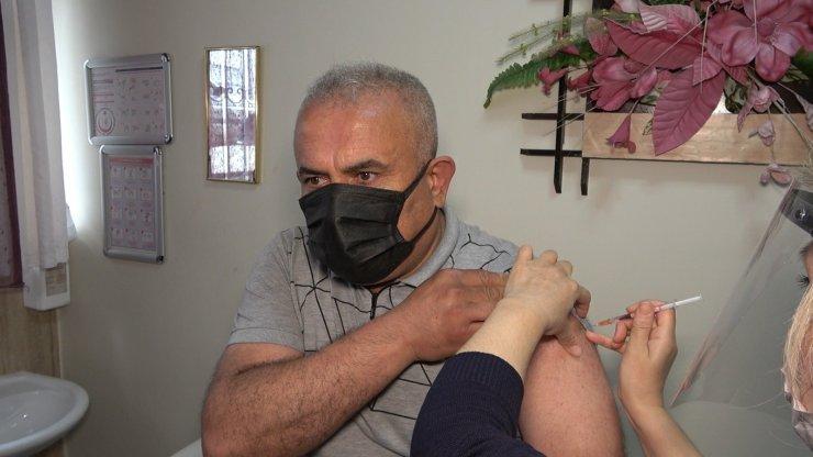 Kırıkkale'deki aile sağlığı merkezlerinde BioNTech aşısı uygulanmaya başlandı