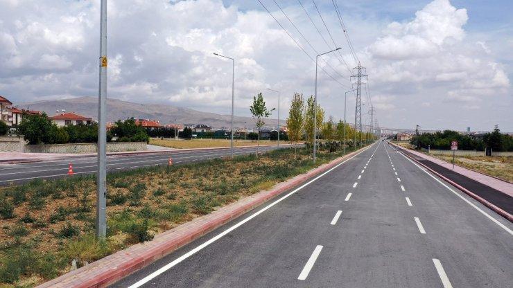 Konya'da 14,5 kilometrelik Sultan Abdülhamid Han Caddesi'nin ilk etabı tamamlandı