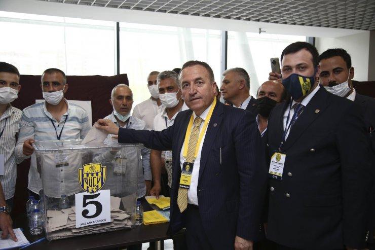 MKE Ankaragücü'nde yeni başkanı Faruk Koca oldu
