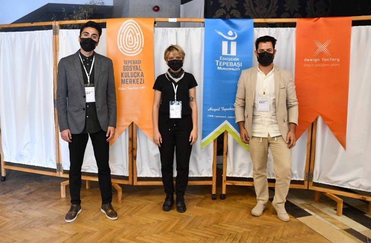 Eskişehir'in ilk dijital sanat sergisi Tepebaşı'nda açıldı
