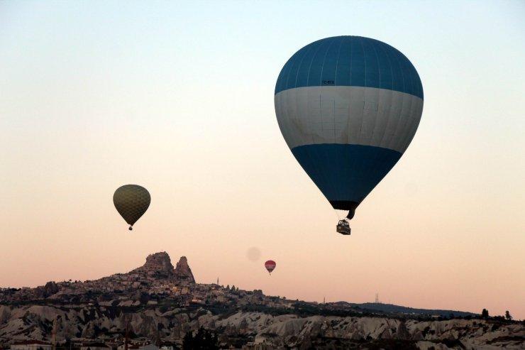 Kapadokya'yı Mayıs ayında 61 bin 634 turist ziyaret etti
