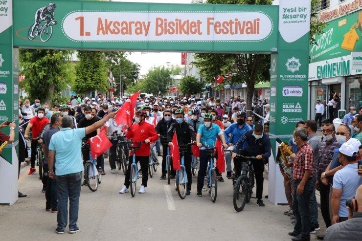 Aksaray Belediyesi'nden bisiklet festivali