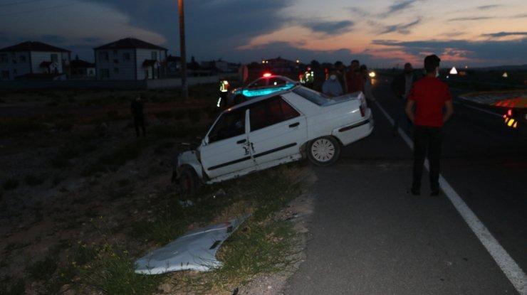 Niğde'de iki otomobil çarpıştı: 4 yaralı