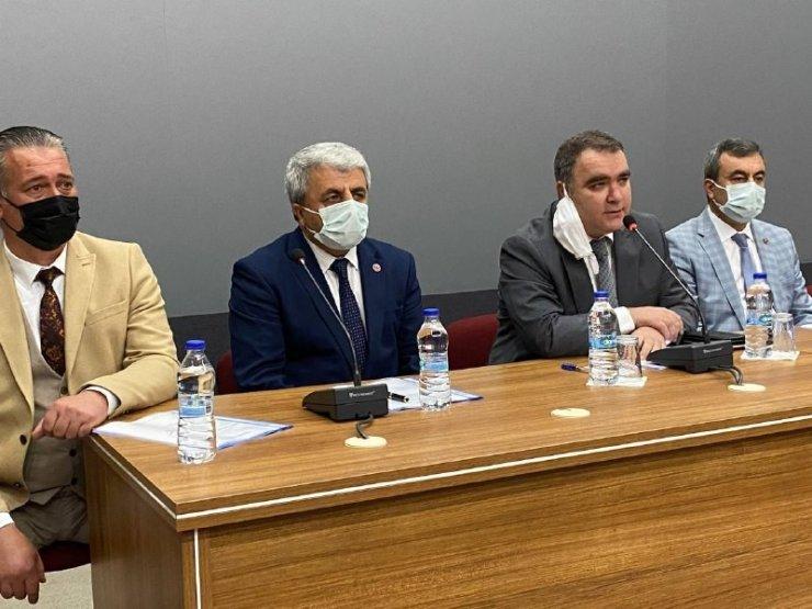 Akdağmadeni Köylere Hizmet Götürme Birliği toplantısı yapıldı