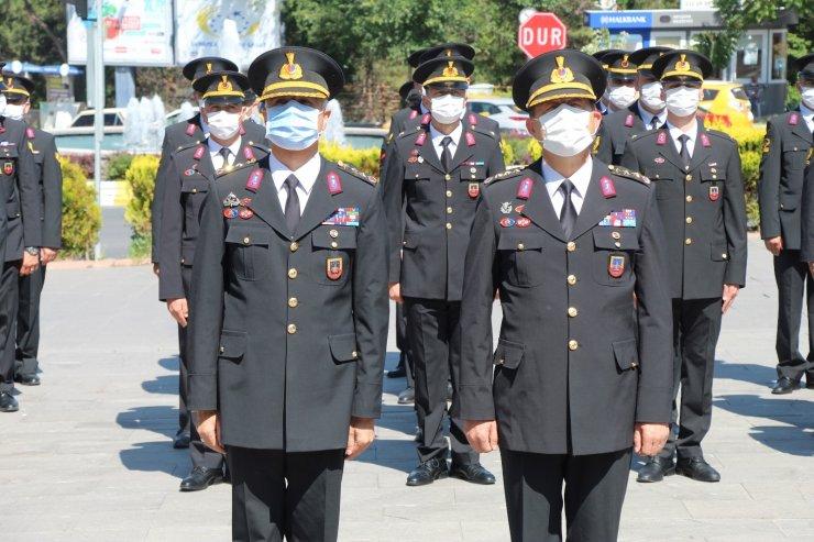 Jandarmanın 182. kuruluşu yıldönümü kutlandı
