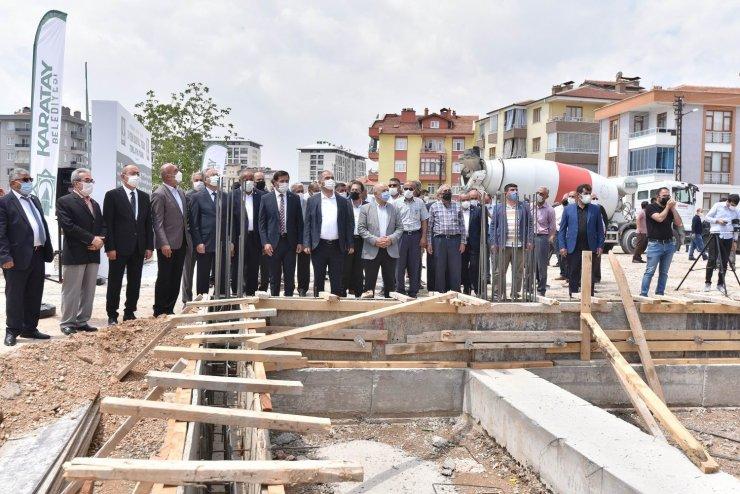 Karatay Belediyesi ilçeye 3 yeni sosyal tesis daha kazandırıyor