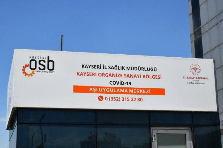 """Başkan Nursaçan: """"Covid-19 aşısı Kayseri OSB'de de yapılıyor"""""""