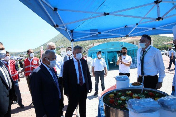 Büyükkılıç Türk Kızılay'ı hayır panayırında