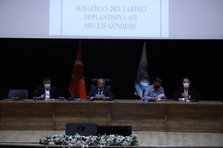Büyükşehir Haziran Ayı Meclisi ikinci birleşimi yapıldı