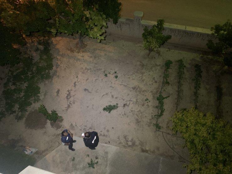 Aile içi kavgaya giden polis kenevir bahçesiyle karşılaştı