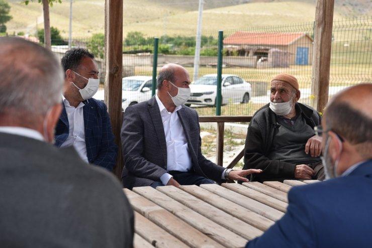 Başkan Pekyatırmacı mahalle ziyaretlerini dış mahallelerde sürdürüyor