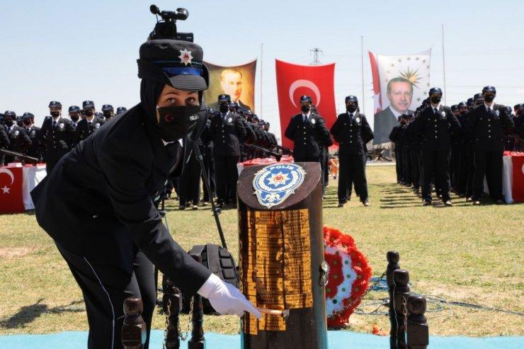 Aksaray'da 391 kadın polis için mezuniyet töreni düzenlendi