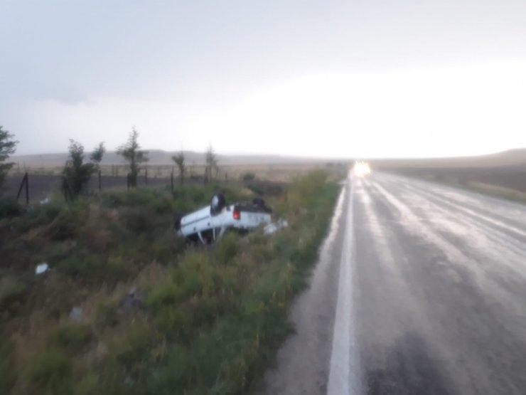 Başkent'te yağış beraberinde kazaları da getirdi