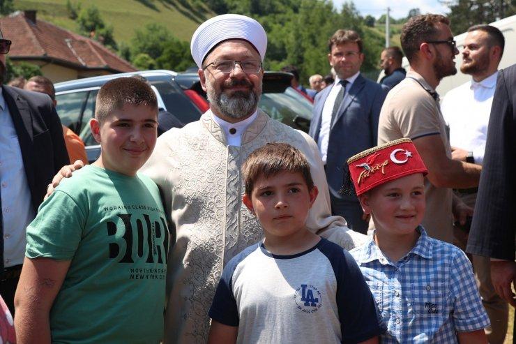Diyanet İşleri Başkanı Erbaş, Karadağ'da
