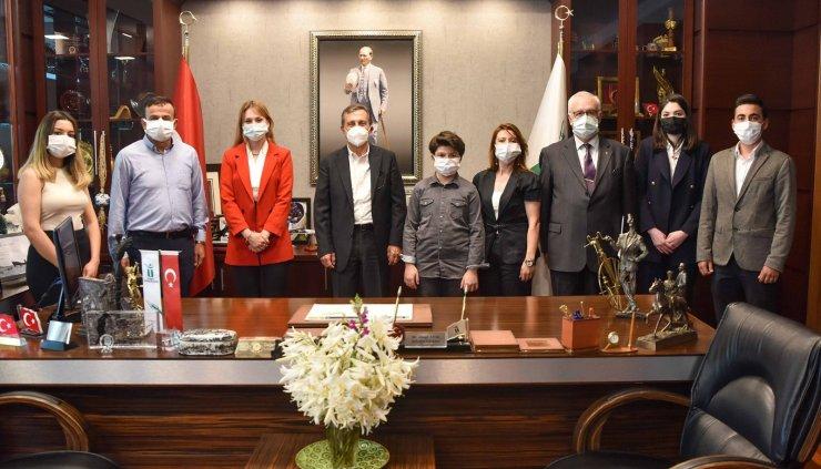 Başkan Ataç dünya 5'incisi Hasan Efe Ar'ı tebrik etti
