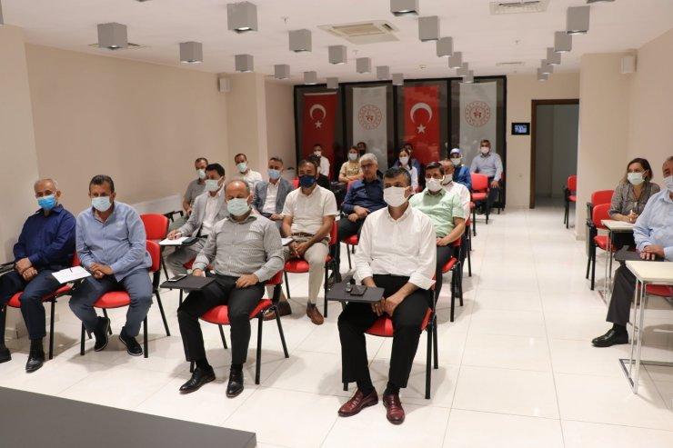 Ali İhsan Kabakcı müdürlerle bir araya geldi