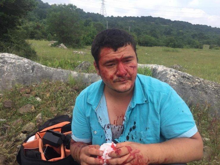 Türkiye Foto Muhabirleri Derneği'nden, İHA Muhabiri Uslu'ya yapılan saldırıya kınama