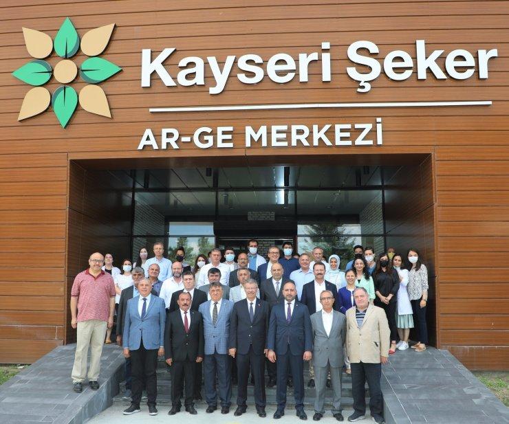 Kayseri Ticaret Borsası heyeti Kayseri Şeker'de
