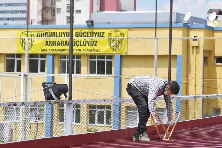 Ankara Büyükşehir Belediyesi'nin Ankaragücü'ne desteği sürüyor