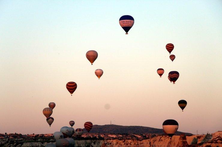 Kapadokya'da müze ve ören yerlerini Haziran ayında 150 bin 282 turist ziyaret etti
