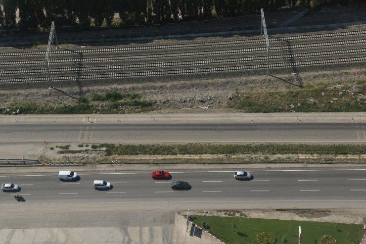 Başkentin trafiği arefe gününde havadan denetlendi