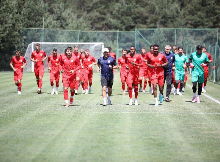 Yiğidolar'da Petrocub maçı hazırlıkları sürüyor