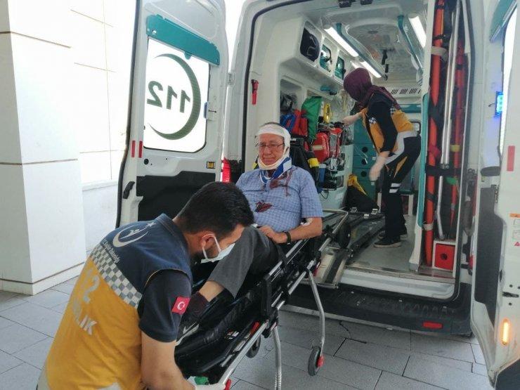 Aksaray'da otomobiller çarpıştı: 4 yaralı