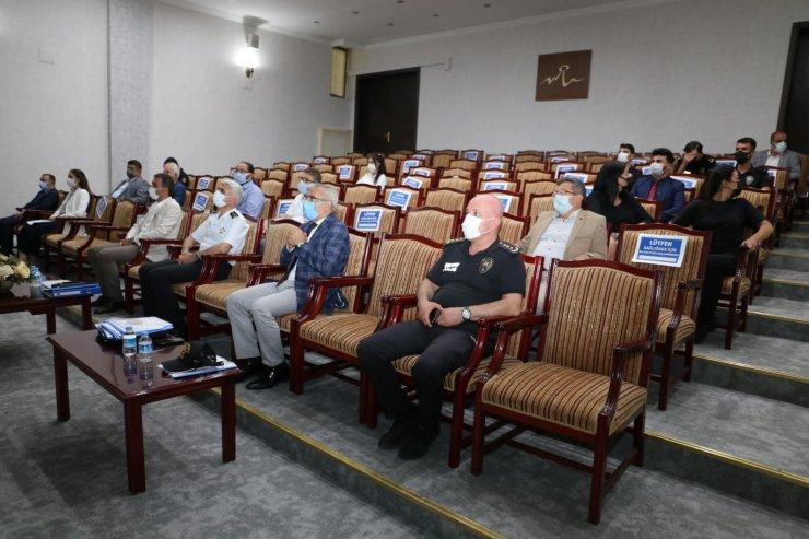 Nevşehir'de İl Spor Güvenlik Kurulu toplantısı yapıldı