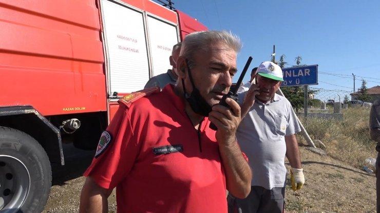 Kırıkkale'de orman yangını: 10 dönümlük alan küle döndü