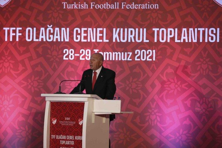 TFF Başkanı Nihat Özdemir, Ali Koç'un yapmış olduğu açıklamalara cevap verdi