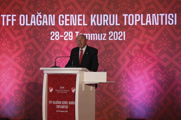 """Nihat Özdemir: """"TFF yayın hakları, kulüplerin rızası alınarak kurulacak bir Süper Lig A.Ş.'ye devredilebilir"""""""