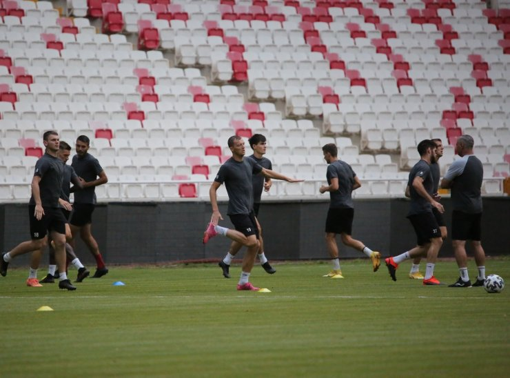Petrocub, Sivasspor maçı hazırlıklarını tamamladı