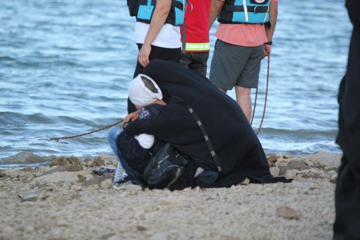 Baraj gölünde kaybolan 3 kişiyi arama çalışmaları devam ediyor