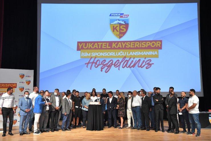 Kayserispor'un isim sponsoru Yukatel oldu