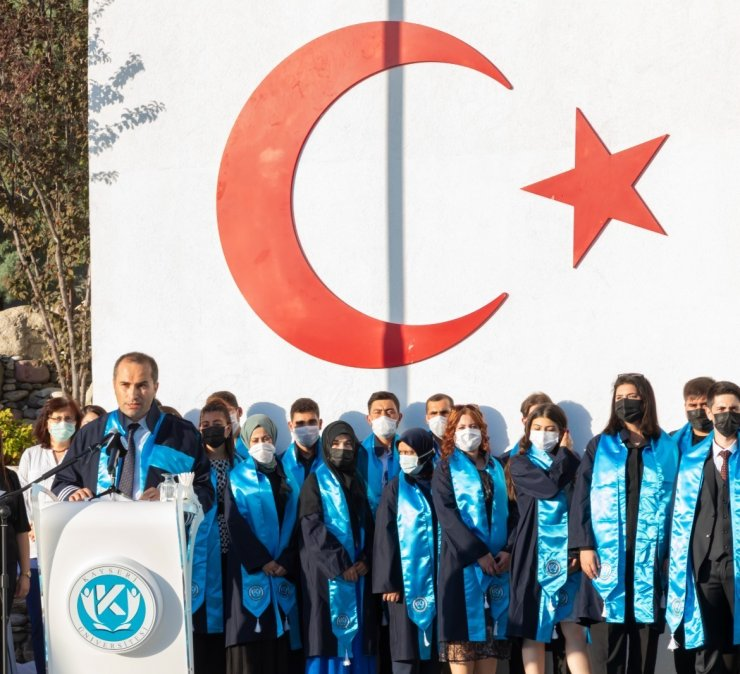 KAYÜ Safiye Çıkrıkçıoğlu MYO Mezuniyet ve Şed Kuşanma Töreni Düzenlendi