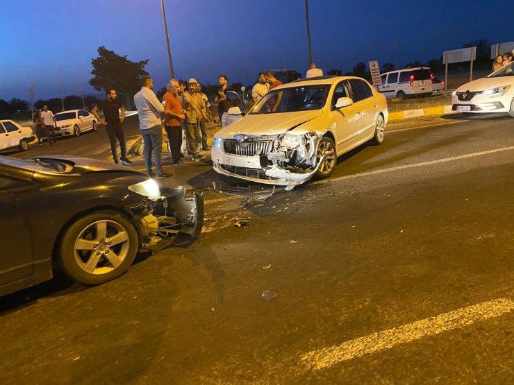 Nevşehir'de iki araç çarpıştı: 1 yaralı