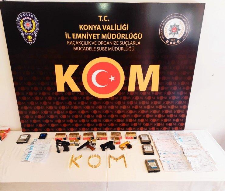 Konya'da tefecilik operasyonu: 13 gözaltı