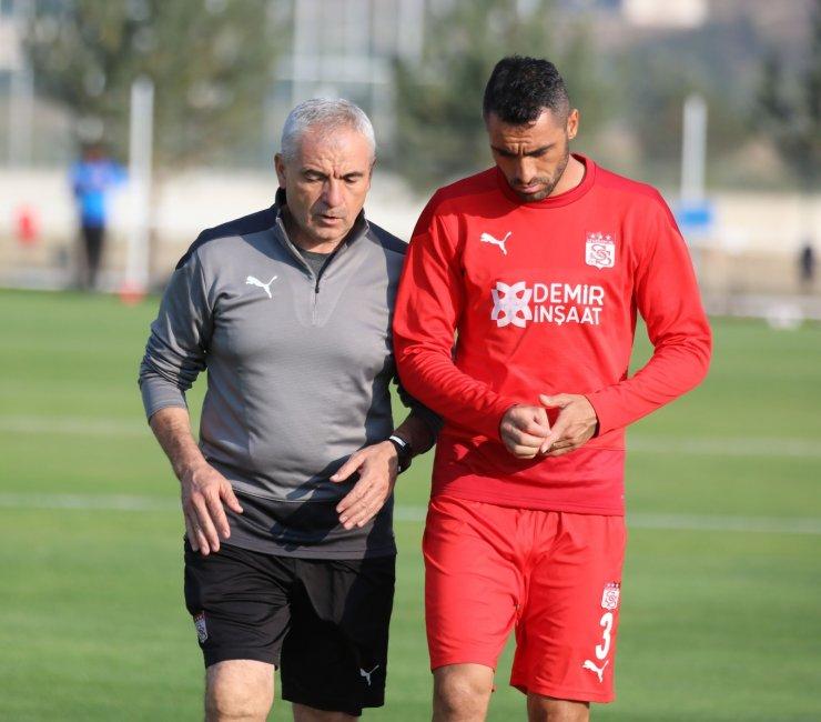 Sivasspor, Gaziantep maçı hazırlıklarına başladı