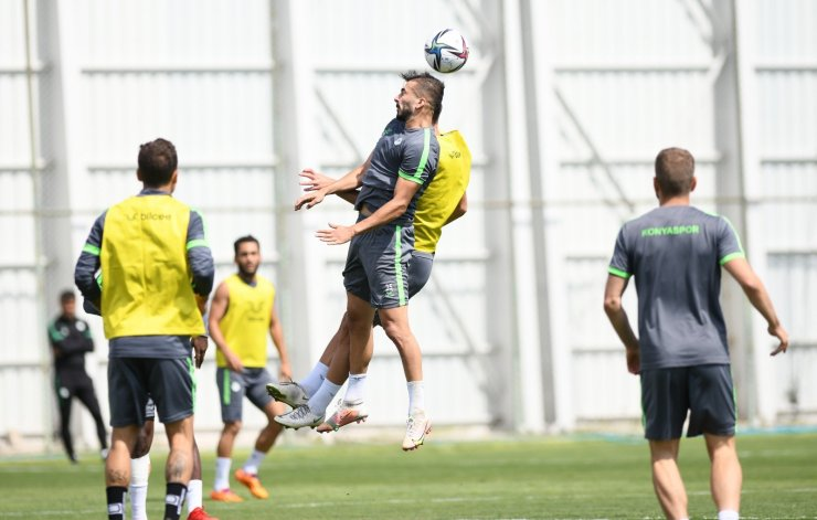 Konyaspor, Giresunspor maçı hazırlıklarına devam ediyor