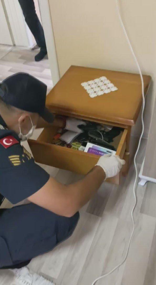 """Aksaray jandarmadan """"Maganda"""" operasyonu: 5 gözaltı"""