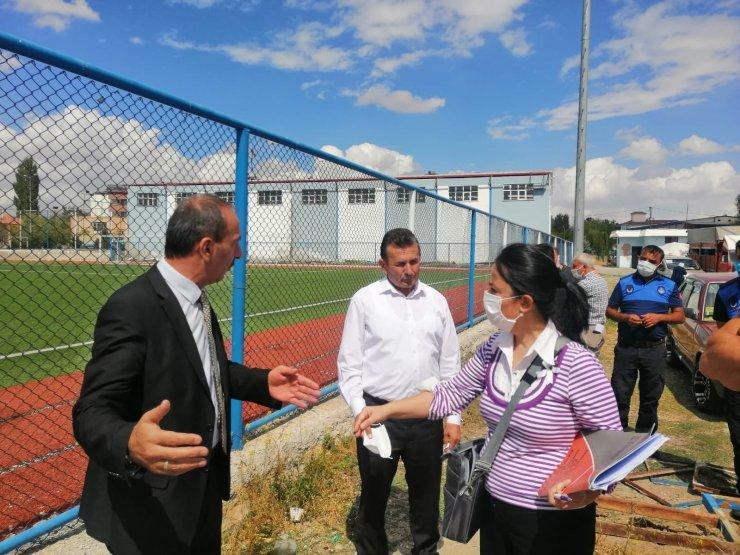 Tomarza Stadına yeni bir çehre kazandırılacak