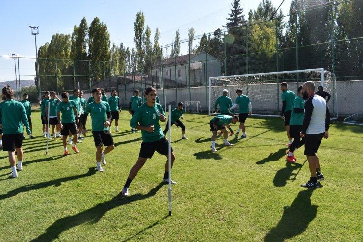 Sivas Belediyespor, Maraş maçının taktiğini çalıştı