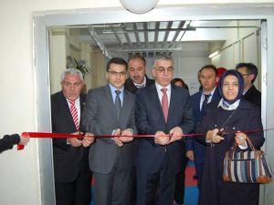 Aksaray valisi şeref ataklı Eskil engelli yasam projesi açılışı yaptı.