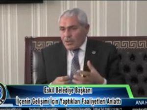 Başkan Alçay Yaptıkları faaliyetleri Anlattı
